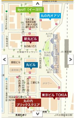 丸の内の地図