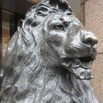 銀座三越ライオン像