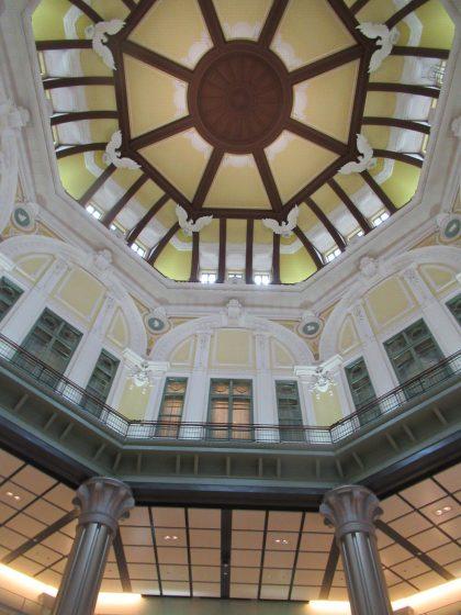 TORAYA TOKYOのある東京駅丸の内南口のドーム