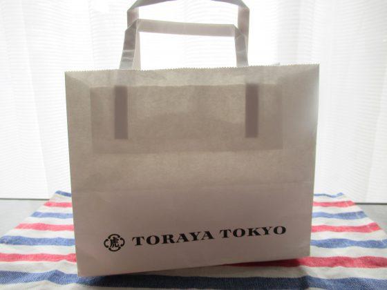 TORAYA TOKYOの手提げ袋