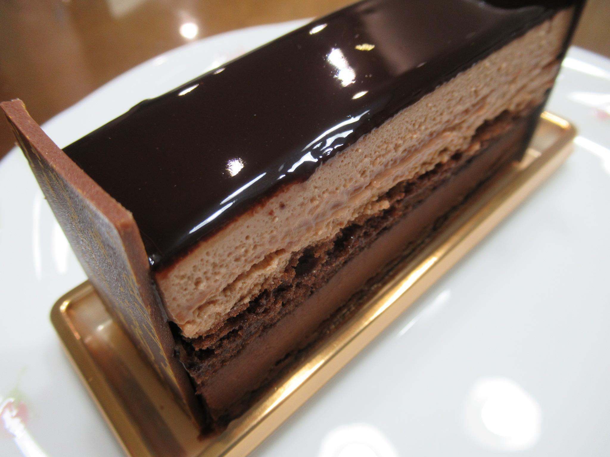 ミッシェルブランのチョコレートケーキ