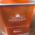 Harney&Sonsの紅茶ホットシナモンスパイスの缶