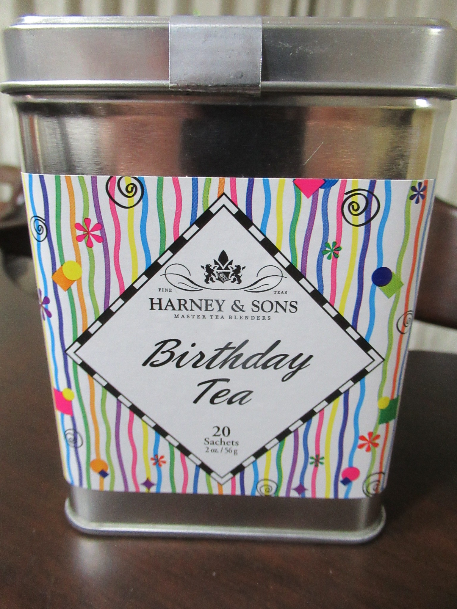 Harney&SonsのBirthdayTea