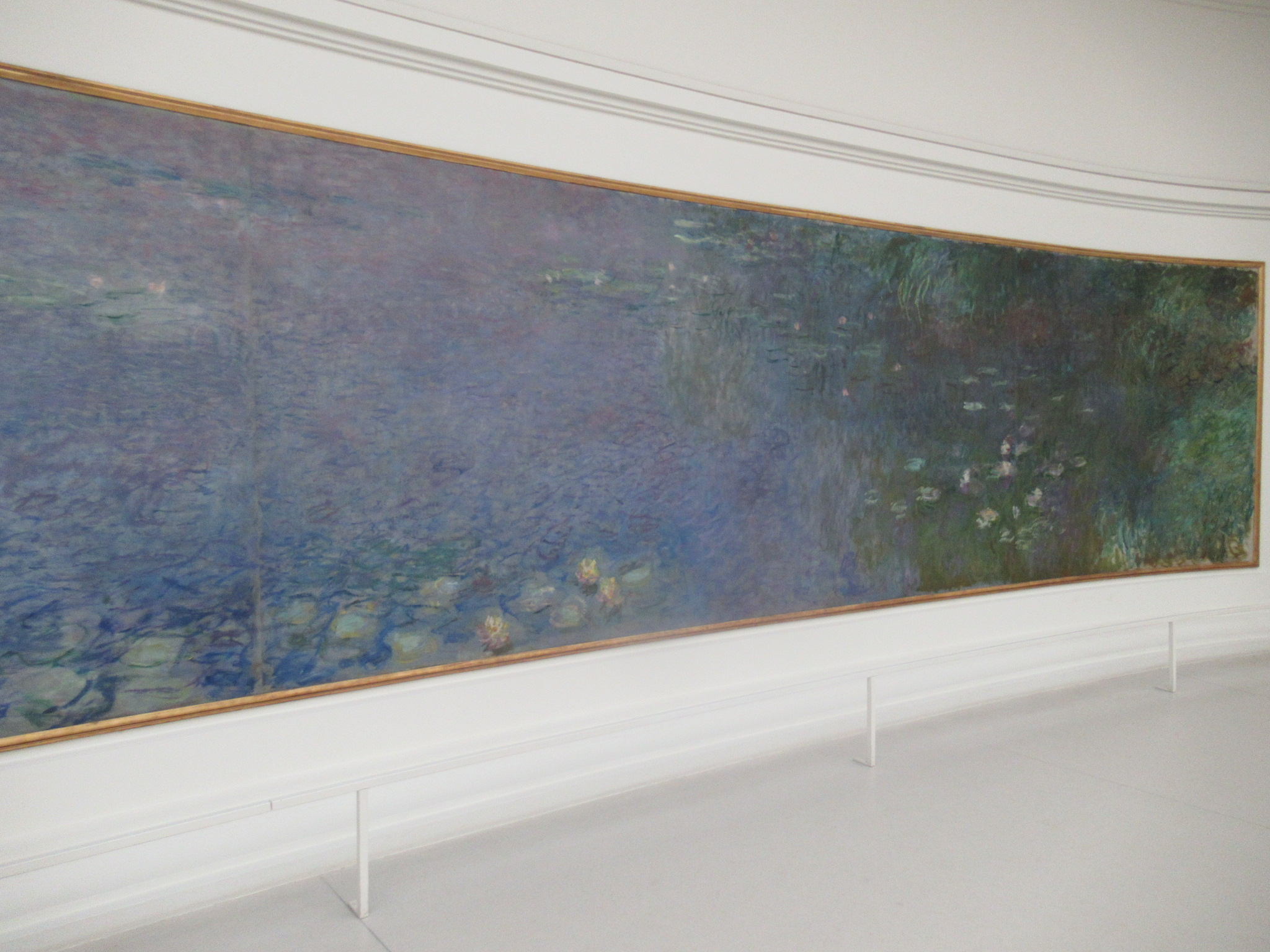 オランジュリー美術館の水連