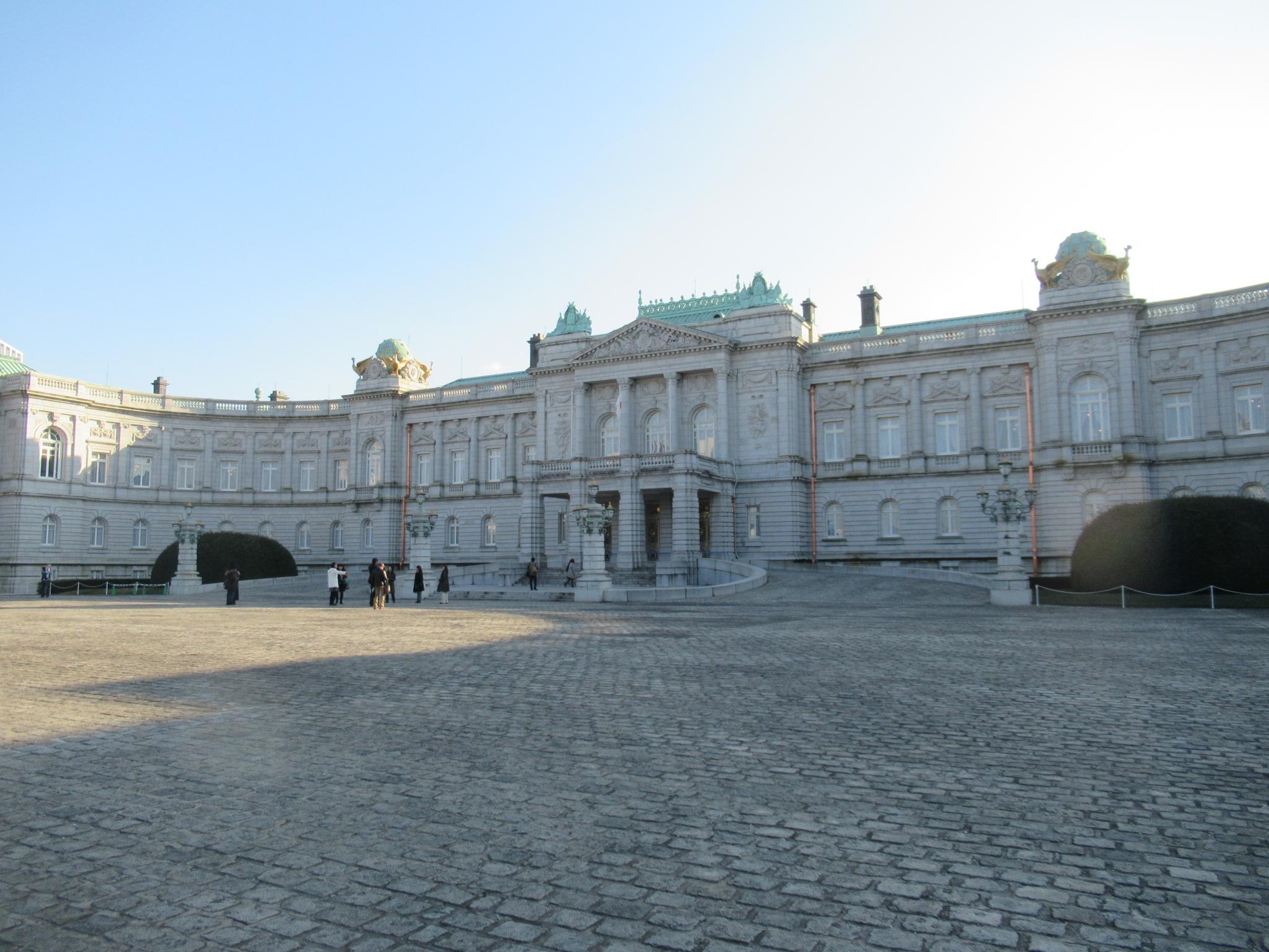 迎賓館赤坂離宮の前庭