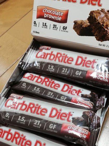 CarbRiteDietのチョコブラウニー
