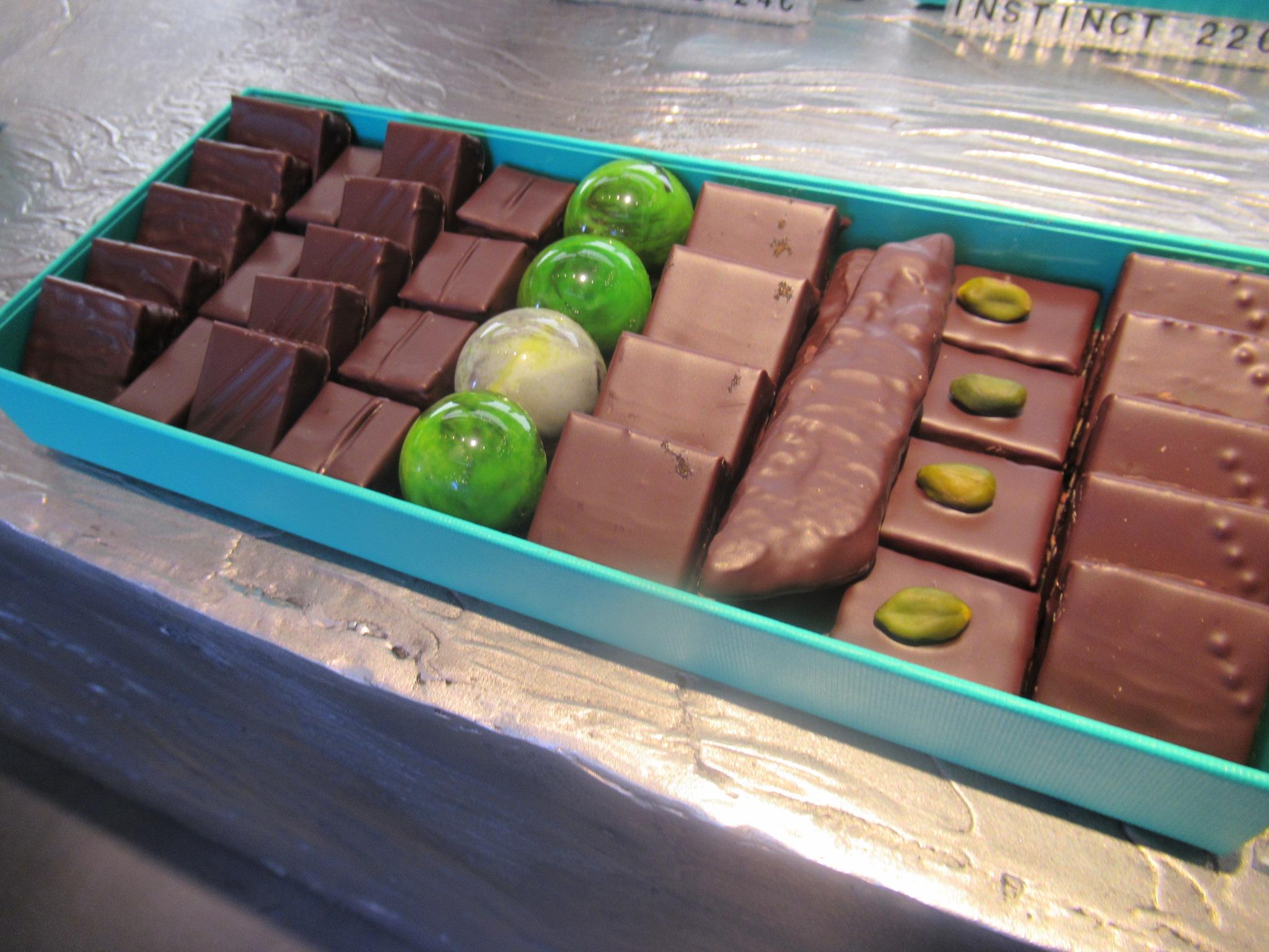店頭で見つけたチョコレート