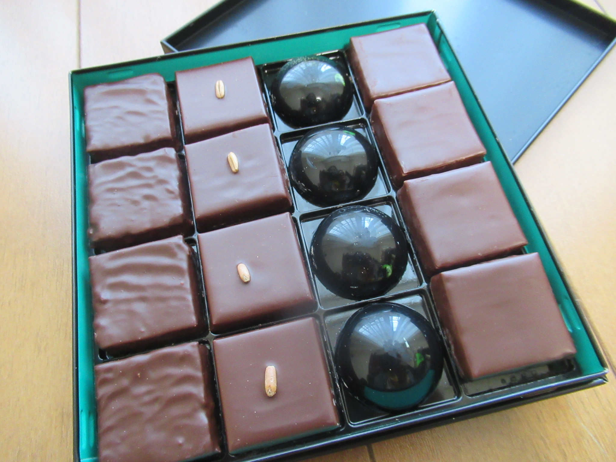 パトリック・ロジェで購入したチョコレート