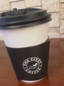 The Civet Coffeeのカフェオレ