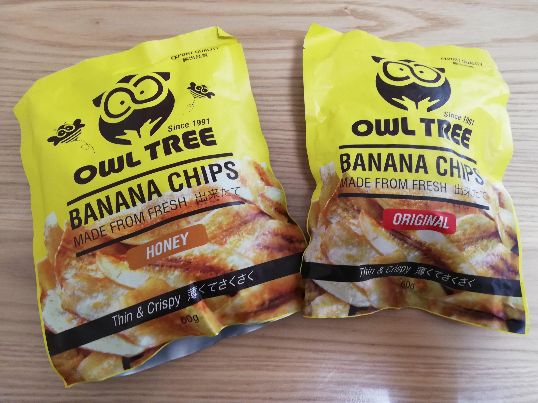 OWL TREEのバナナチップス