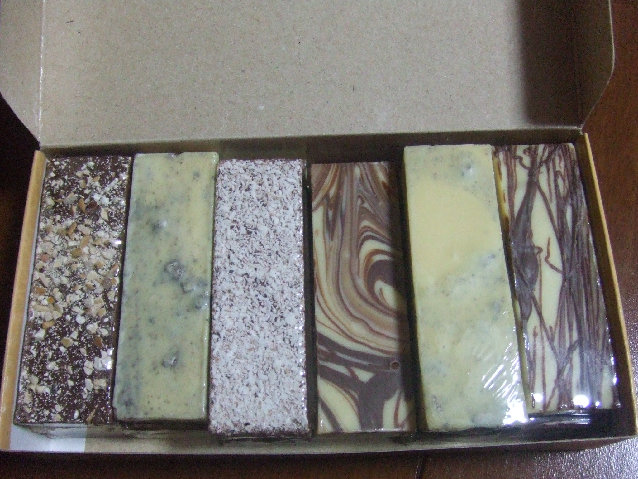 Gramadoで購入したチョコレート