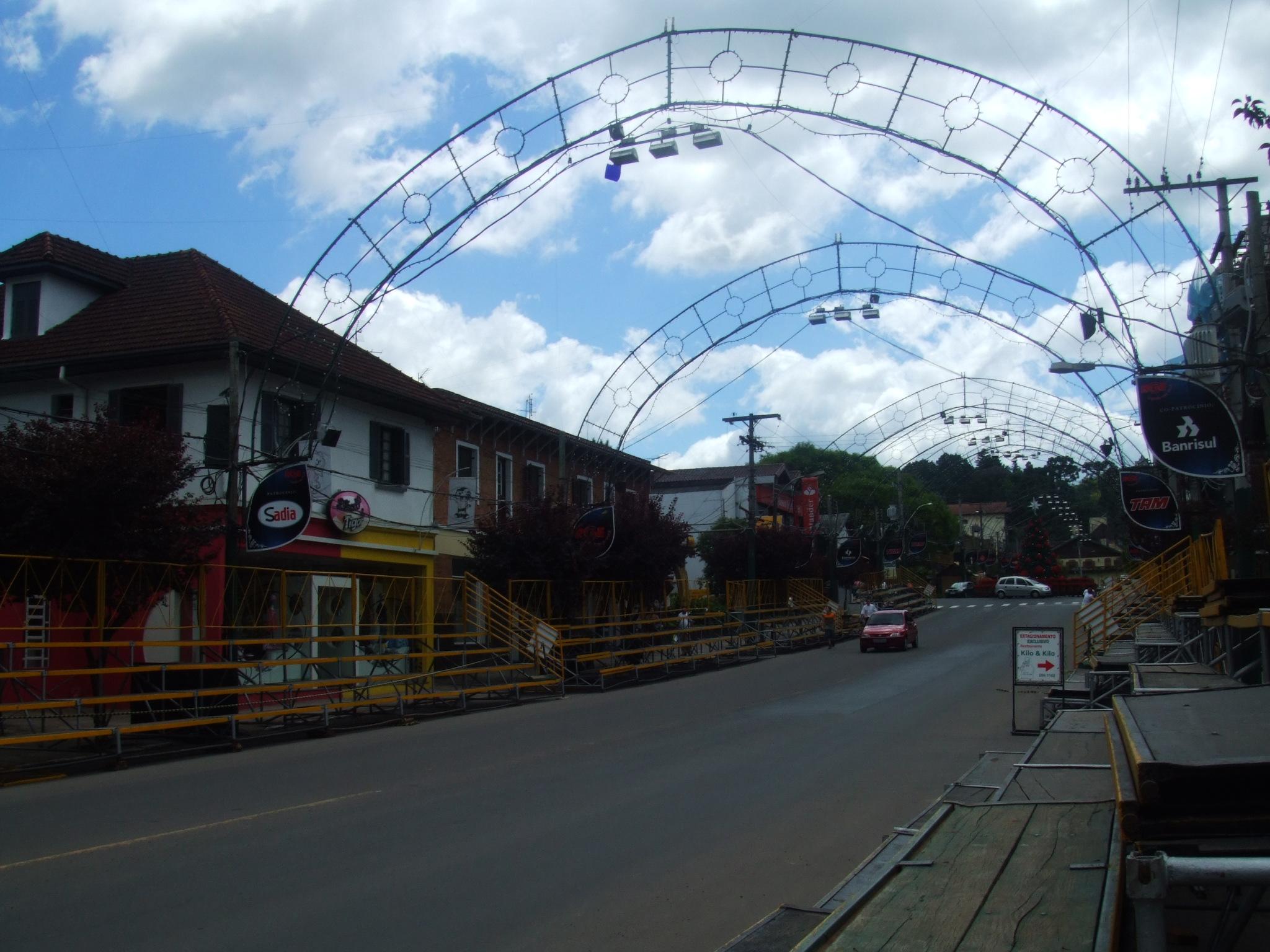 Gramadoの街並み