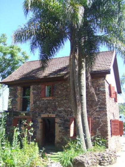 カシアスにある初代イタリア系移民たちが暮らしていた家