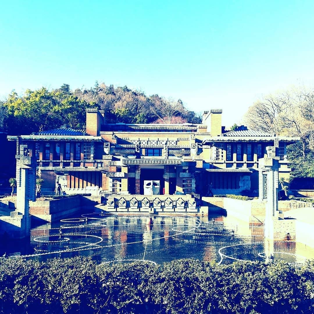 博物館明治村にある初代帝国ホテルの玄関
