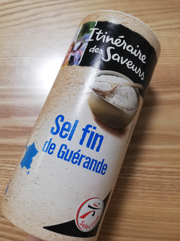 パリのスーパーで買ったゲランドの塩