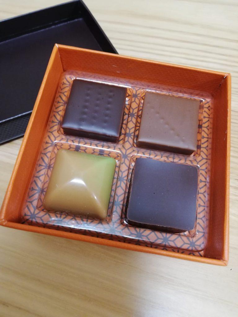 ローラン・ル・ダニエルのバレンタインチョコレート
