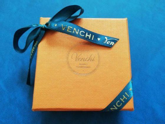 Venchiチョコレートの外箱